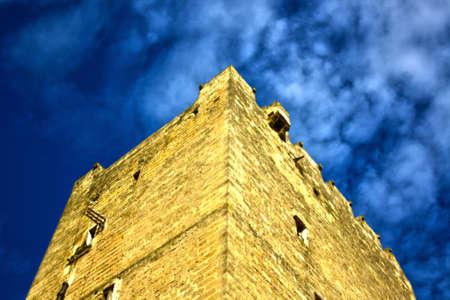 castle and episcope of grottaglie Фото со стока