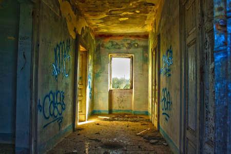 abandoned house Imagens