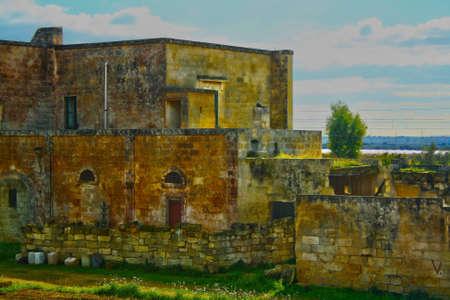 ancient masseria in Puglia