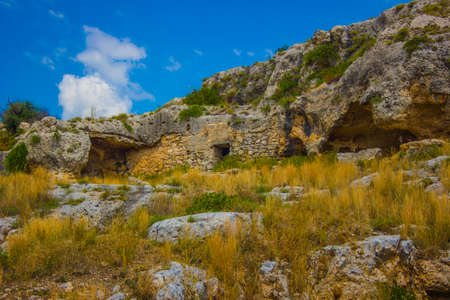 the caves of Puglia