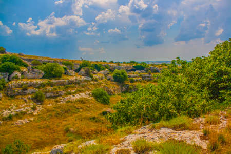 the ravines of Puglia