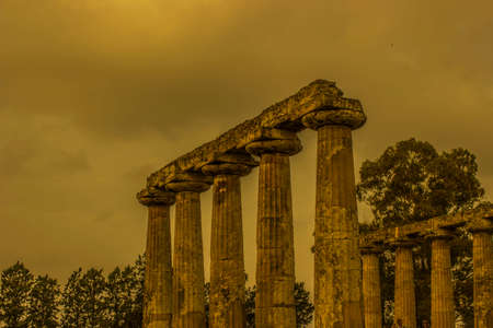 temple of hera in metaponto
