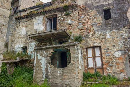 ghost town of alianello