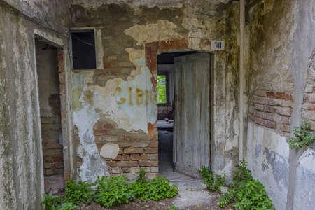 abandoned places Stock Photo