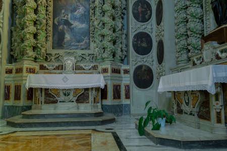 grottaglie mother church Banco de Imagens