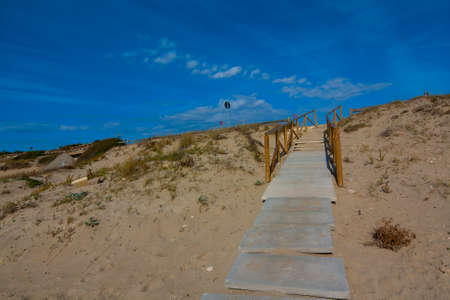the stairway to the beach
