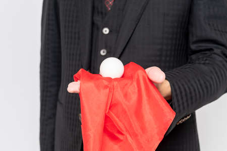 At the hands of a magician doing magic tricks Stock fotó