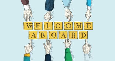 meet up: WELCOME ABOARD