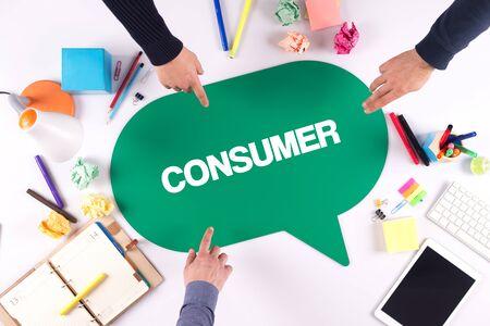 consumer: TEAMWORK BUSINESS BRAINSTORM CONSUMER CONCEPT