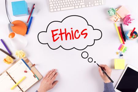 work ethic responsibilities: BUSINESS OFFICE ANNOUNCEMENT COMMUNICATION ETHICS CONCEPT
