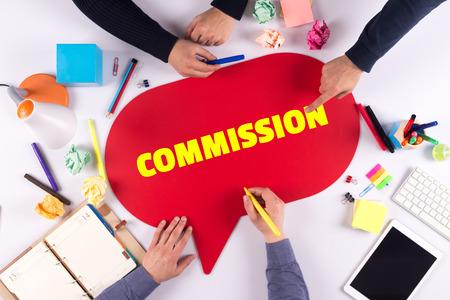 TEAMWORK BUSINESS BRAINSTORM COMMISSION CONCEPT