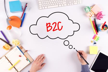 b2c: BUSINESS OFFICE ANNOUNCEMENT COMMUNICATION B2C CONCEPT