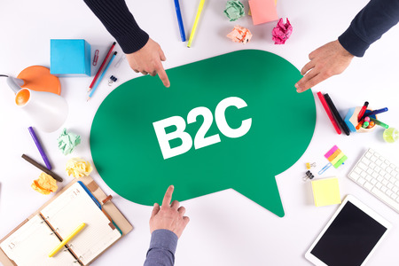 b2c: TEAMWORK BUSINESS BRAINSTORM B2C CONCEPT