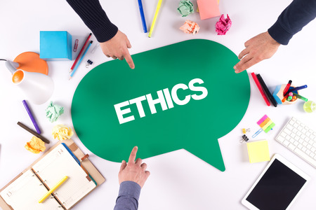 working ethic: TEAMWORK BUSINESS BRAINSTORM ETHICS CONCEPT Stock Photo