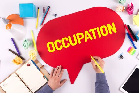 communication occupation: BUSINESS OFFICE ANNOUNCEMENT COMMUNICATION OCCUPATION CONCEPT