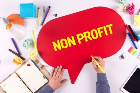 non profit: BUSINESS OFFICE ANNOUNCEMENT COMMUNICATION NON PROFIT CONCEPT
