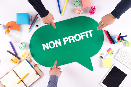 TEAMWORK BUSINESS BRAINSTORM NON PROFIT CONCEPT