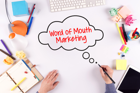referrer: BUSINESS OFFICE ANNOUNCEMENT COMMUNICATION WORD OF MOUTH MARKETING CONCEPT