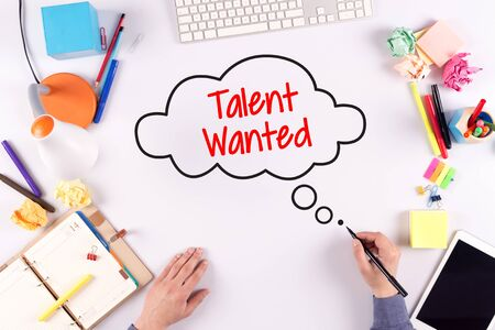 BUSINESS OFFICE ANNOUNCEMENT COMMUNICATION TALENT WANTED CONCEPT