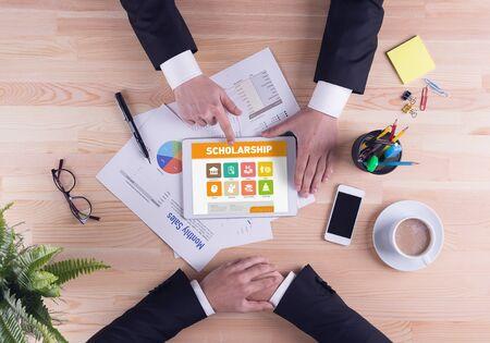 scholarship: Business team concept - Scholarship