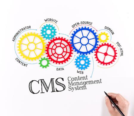 Business CMS Content Management System Mechanism
