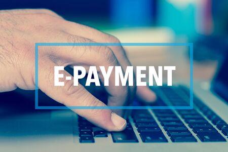 epayment: Technology Concept: E-PAYMENT