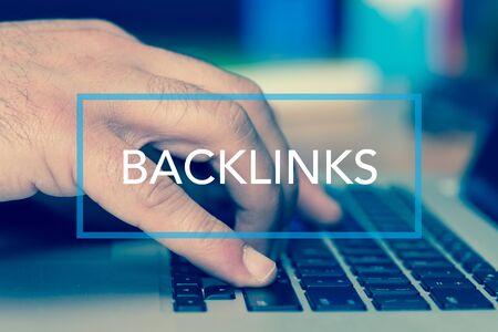 linkbuilding: Technology Concept: BACKLINKS