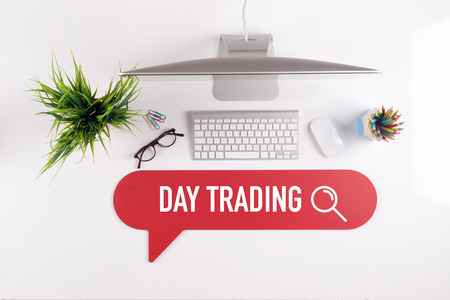 stock quotations: DAY TRADING Search Find Web Online Technology Internet Website Concept