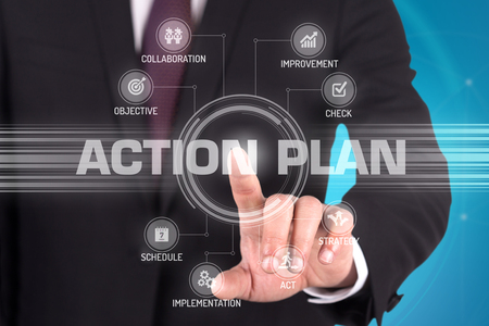 ACTION PLAN with Touch Screen Technology