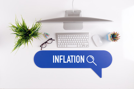speculate: INFLATION Search Find Web Online Technology Internet Website Concept