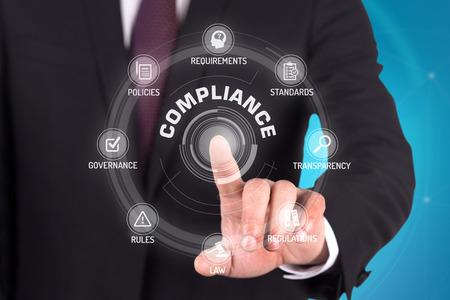categorized: COMPLIANCE TECHNOLOGY COMMUNICATION TOUCHSCREEN FUTURISTIC CONCEPT Stock Photo