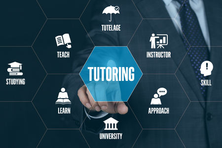 tutoring: TUTORING TECHNOLOGY COMMUNICATION TOUCHSCREEN FUTURISTIC CONCEPT