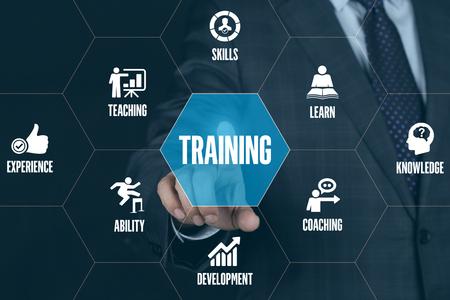 executive courses: TRAINING TECHNOLOGY COMMUNICATION TOUCHSCREEN FUTURISTIC CONCEPT
