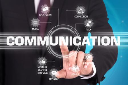 at communication: COMMUNICATION TECHNOLOGY COMMUNICATION TOUCHSCREEN FUTURISTIC CONCEPT