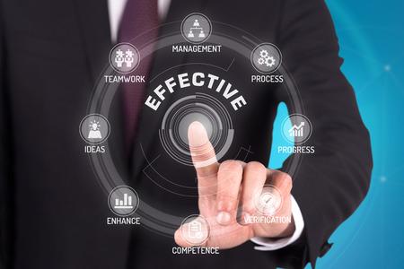 enhance: EFFECTIVE TECHNOLOGY COMMUNICATION TOUCHSCREEN FUTURISTIC CONCEPT Stock Photo