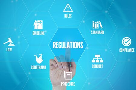 process management: REGULATIONS TECHNOLOGY COMMUNICATION TOUCHSCREEN FUTURISTIC CONCEPT