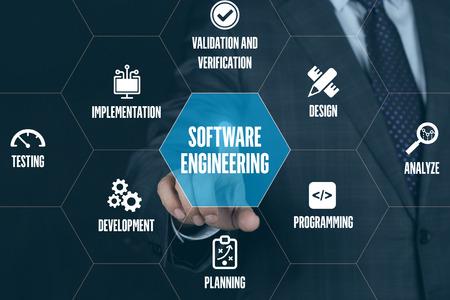 SOFTWARE ENGINEERING TECHNOLOGY COMMUNICATION TOUCHSCREEN FUTURISTIC CONCEPT 版權商用圖片