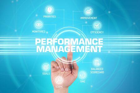 documented: PERFORMANCE MANAGEMENT TECHNOLOGY COMMUNICATION TOUCHSCREEN FUTURISTIC CONCEPT
