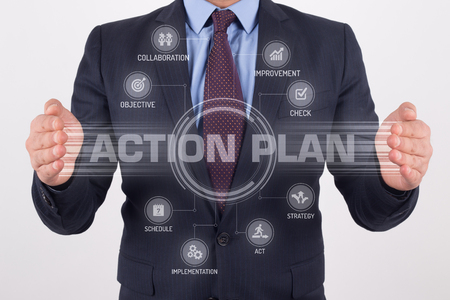 Aktionsplan Touchscreen-Schnittstelle
