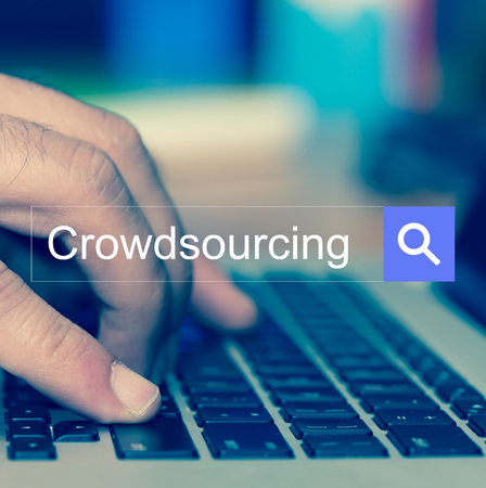 SEARCH WEBSITE INTERNET SEARCHING Crowdsourcing CONCEPT