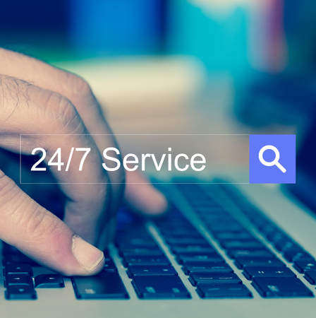 24x7: SEARCH WEBSITE INTERNET SEARCHING 247 Service CONCEPT