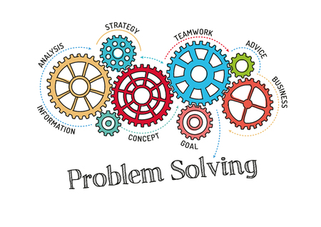 coordination: Gears and Problem Solving Mechanism