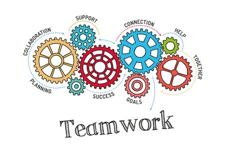 teamwork: Gears and Teamwork Mechanism