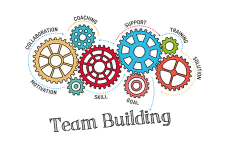 cooperate: Gears and Team Building Mechanism