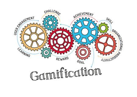 Getriebe und Gamification Mechanism
