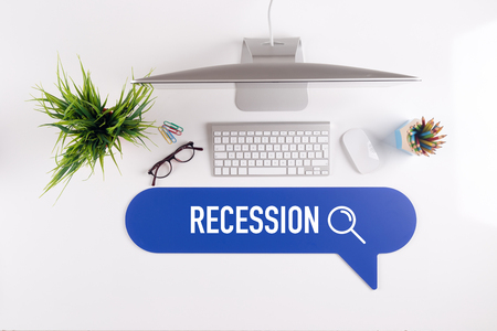 recession: RECESSION Search Find Web Online Technology Internet Website Concept