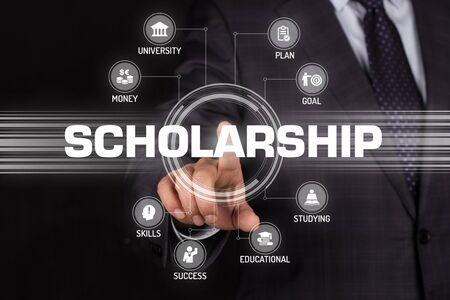 scholarship: SCHOLARSHIP TECHNOLOGY COMMUNICATION TOUCHSCREEN FUTURISTIC CONCEPT