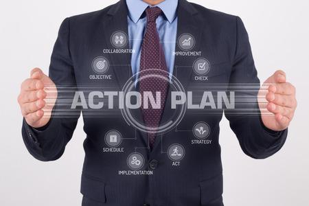 PLAN D'ACTION avec la technologie d'écran tactile