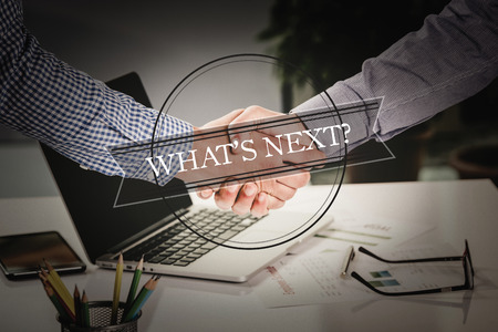 what's ahead: BUSINESS AGREEMENT PARTNERSHIP Whats Next? COMMUNICATION CONCEPT