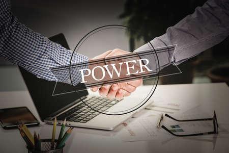 partnership power: BUSINESS AGREEMENT PARTNERSHIP Power COMMUNICATION CONCEPT